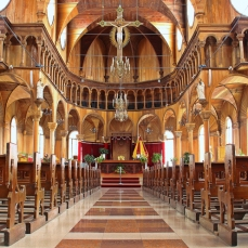 Interior Basilica minore Sts. Peter and Paul's