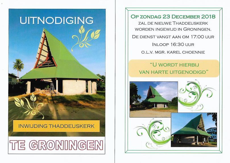 Groningen uitnodiging