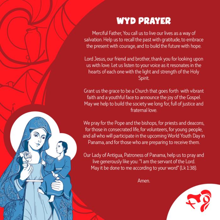 wjd prayer