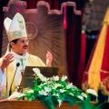 Mgr. Karel Choennie, bishop of Paramaribo